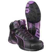Puma Safety Stepper WMNS Mid Ladies Safety Boots Black